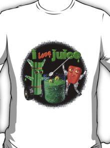 I Love Juice w/ celerybot by Valxart    T-Shirt