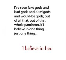 I Believe in Her by Alexis Maro