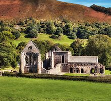 153 Valle Crucis Abbey, North Wales by George Standen