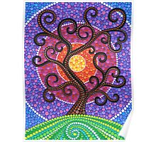 Spiralling Tree of Life Poster