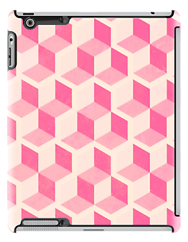 Cute Pink Blocks by Alex Eldridge