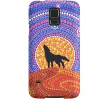 Night of the Wandering Wolf Samsung Galaxy Case/Skin