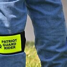 Patriot Guard Rider by Olivia Johnson