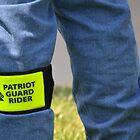 Patriot Guard Rider by Olivia Johnson