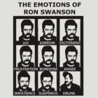 Ron Swanson is a man of many faces by Flippinawesome