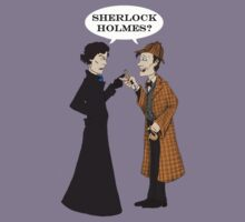 sherlock who? by DamoGeekboy