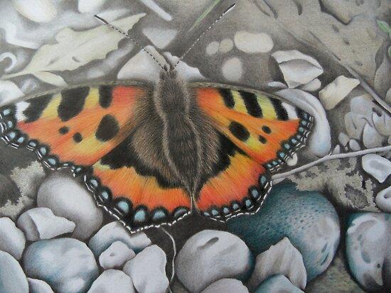 'Delicate Beauty II' by Dawn Jones Art