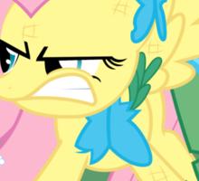 Fluttershy Problem Sticker