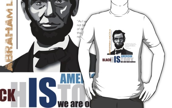Black History Month: Abraham Lincoln by vjewell