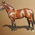Elvestroem - Champion Thoroughbred by michael montgomerie