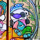Panda - Graffiti - Street Art by NicNik Designs