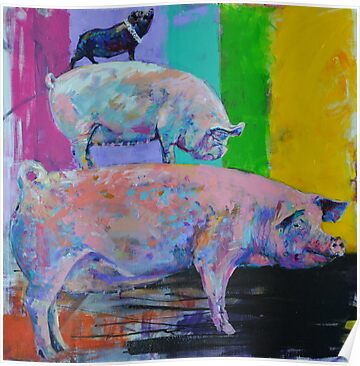 'Middle Pig.' by Cat Leonard
