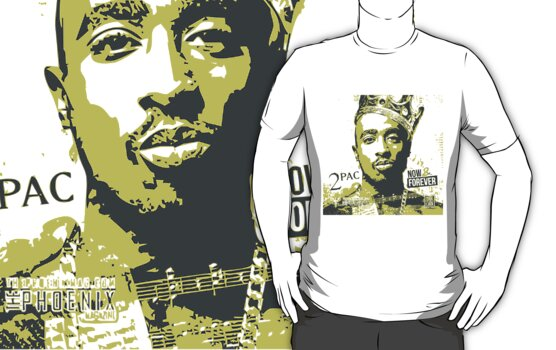 2pac - Pop Art by GKuzmanov