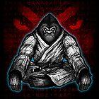 Black Belt Gorilla  by Meerkatsu