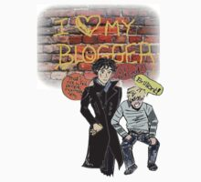 Sherlock Manga Ship T-Shirt