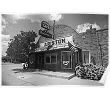 Route 66 - Ariston Cafe Poster