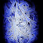 Body Art Blue by AliLou75