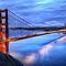 Golden Gate Bridge Oil Painting by Fred Seghetti