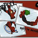 Deadpool Beats Avengers by zombieCraig