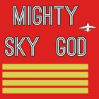 Mighty Sky God by initiala