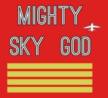 Mighty Sky God by initiala