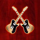 Fender Telecaster Custom v2 ipad Case by goodmusic