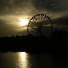 Ferris Wheel at Torquay Harbour by lezvee