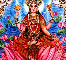 Goddess Lakshami by Harsh  Malik