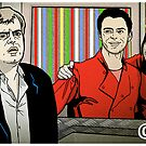 Steve McDonald, Tracy Barlow by pickledjo