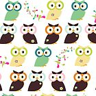 Owls {iPhone Case} by sweettoothliz