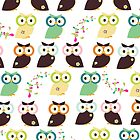 Owls {iPad Case} by sweettoothliz