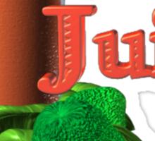Luv 2 juice by Valxart.com Sticker