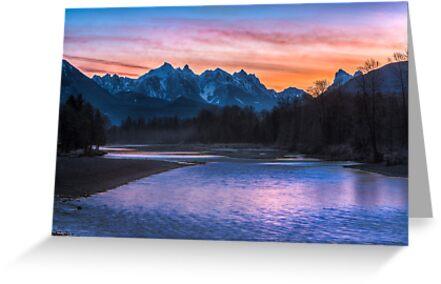 Sky River Sunrise by Jim Stiles