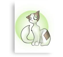 Frankenstein Cat Canvas Print