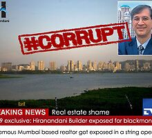 Hiranandani scam uncovered by TV9 by AniketRohatgi