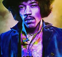 Jimmy Hendrix by michael montgomerie
