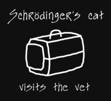 Schrödinger's Cat Carrier - T Shirt by BlueShift