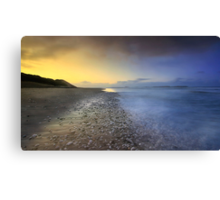 """Pebble Beach"" Canvas Print"