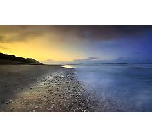 """Pebble Beach"" Photographic Print"