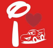 I Heart Cars Land (Inverted) Kids Clothes