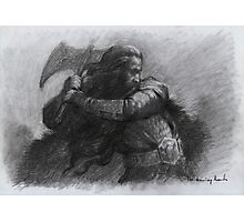 Dwarf Warrior Study Photographic Print