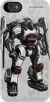 Death Squad Bounty Hunter Mech by Mecha-Zone