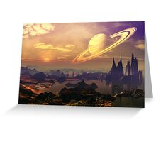 Ringed World Greeting Card