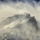 Wind Covered Peak by Ken Smith