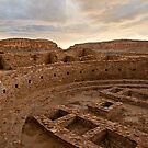Chaco Canyon Kiva by Kim Barton
