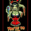 You're So Vein Art Print by ScreamingDemons