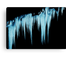 Icy Apparitions  Canvas Print