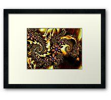 Festive Autumn Framed Print