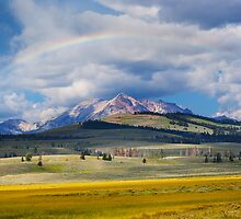 Rainbow Over Antler Peak by Alex Preiss