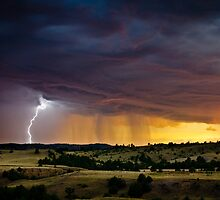 Danger Approaches - South Dakota by Jason Heritage
